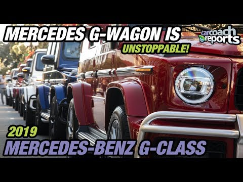 Mercedes G-Wagon Is Unstoppable!