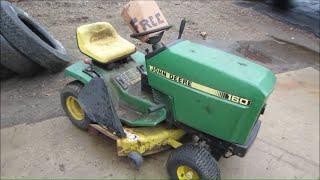 Will It Run?  Free John Deere Garden Tractor