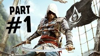 Assassin's Creed 4 Black Flag Walkthrough Part 1 - Intro/Prologue AC4 Let's Play Playthrough