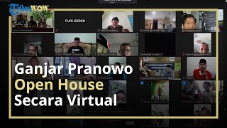 Tak Bisa Open House di Rumah Dinas, Ganjar Pranowo Gelar Silaturahmi Virtual