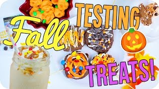 Fall Treats 2016! Easy & Fun for Everyone!