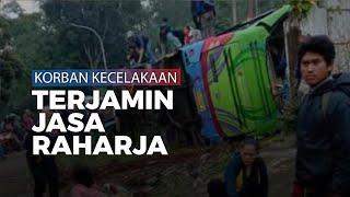 Korban Kecelakaan Bus PO Purnama Sari di Subang Terjamin Jasa Raharja