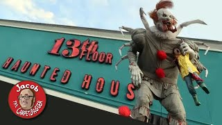 13th Floor - Haunted House, Lights on Tour and Scaring People!