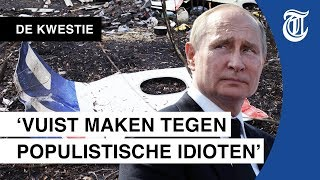 'Russen aanpakken? Poetin is te groot' - DE KWESTIE