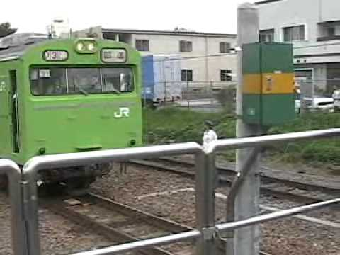 川越線1(103系 故障 東飯能)
