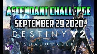 Ascendant Challenge September 29 2020 Solo Guide | Destiny 2 | Corrupted Eggs & Lore Locations