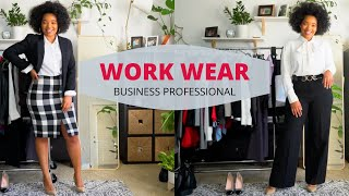 Business Professional Outfits For Work | Work Wear Outfit Ideas