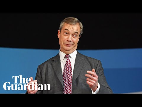 Nigel Farage on the election campaign trail - watch live