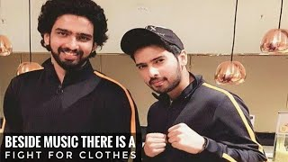 Armaan Malik & Amaal Mallik Said, Besides Music There Is A Fight For Clothes    SLV 2019