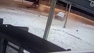 """ДТП,  ул  Волгоградская рядом со стадионом  """"Мордовия Арена """""""