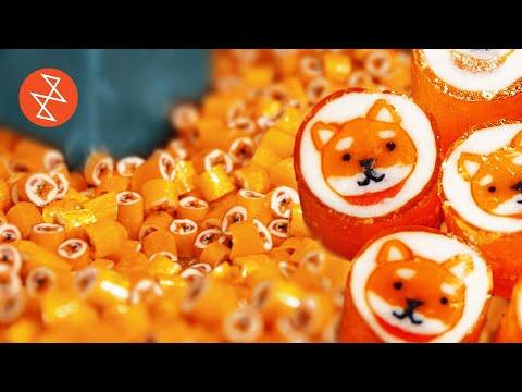 hqdefault - Así se hacen caramelos con la cara de un perro Akita