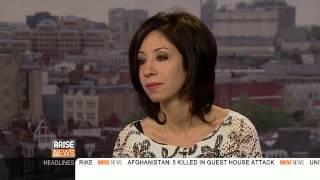 Artist Sara Shamma talks about her work on This Day Live