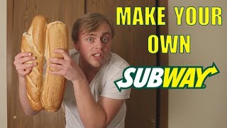 How To Make Your Own Subway Sandwich | Kholo.pk