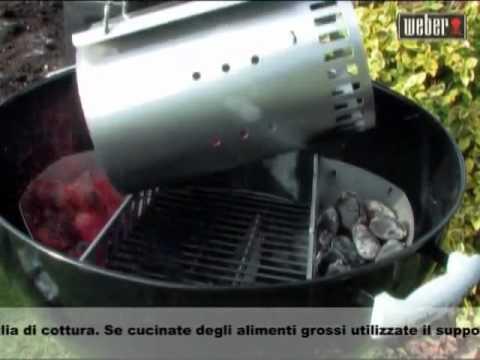 Barbecue a carbone   La cottura diretta e indiretta