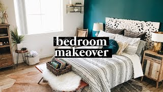 EXTREME BEDROOM TRANSFORMATION + TOUR (2018) - Minimal & Boho Transformation  // Lone Fox
