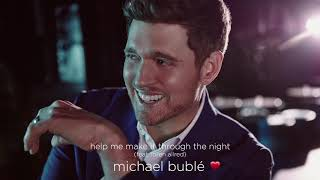 Michael Bublé   Help Me Make It Through The Night (feat. Loren Allred) [Official Audio]