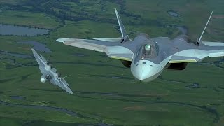 Уникальные кадры полётов военной авиации выложило Мионбороны РФ
