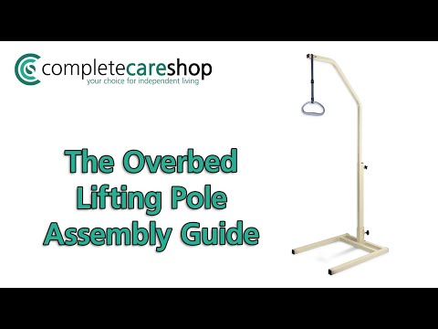 Overbed Lifting Pole - How to Assemble