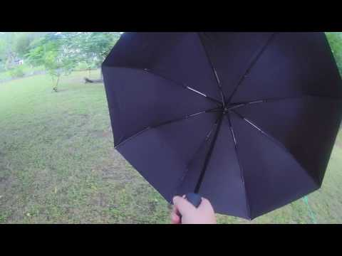 Ohuhu Travel Umbrella, Auto Open and Close, Compact, Black Review sold by Ohuhu Direct