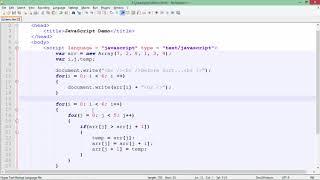 JavaScript - Arrays