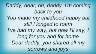 Tanya Tucker - Daddy And Home Lyrics