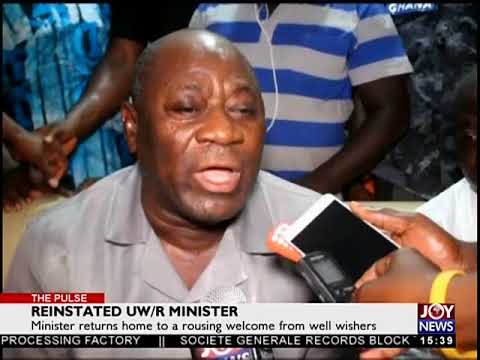 Reinstated UW/R Minister - The Pulse on JoyNews (10-5-18)