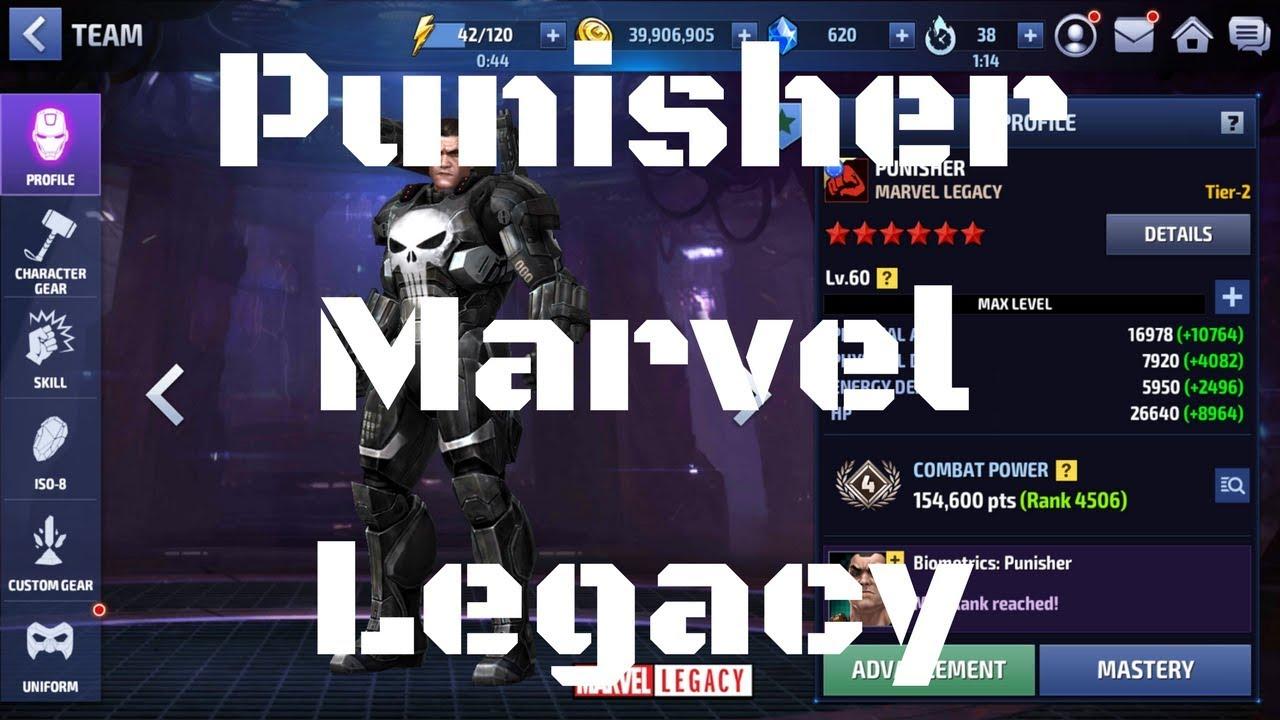 รีวิว Punisher ยู Marvel Legacy