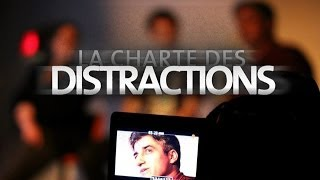 La charte des distractions | Discussion à l'Atomic café