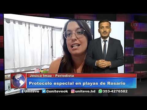 Rosario y un protocolo especial en las playas