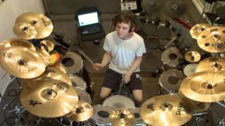 Marillion-White Feather Drum Cover