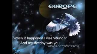 Europe Scream of Anger  (lyrics)