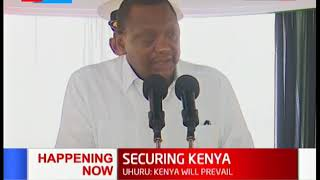 Uhuru: Security officers to mount operations to flash out terrorist operatives
