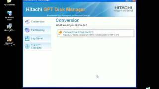 How to Video - Hitachi GPT Disk Manager for the 3TB internal hard drive