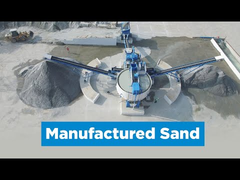 Combo X70 produces manufactured sands
