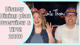 New Disney Dining Plan 2020 Overview & Tips!