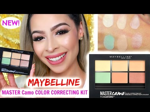 Facestudio Master Camo Color Correcting Kit - Light by Maybelline #7