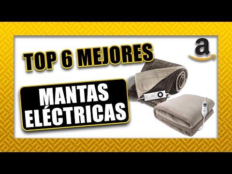 🔆 Top 6 ► MANTAS ELÉCTRICAS | Amazon 2020