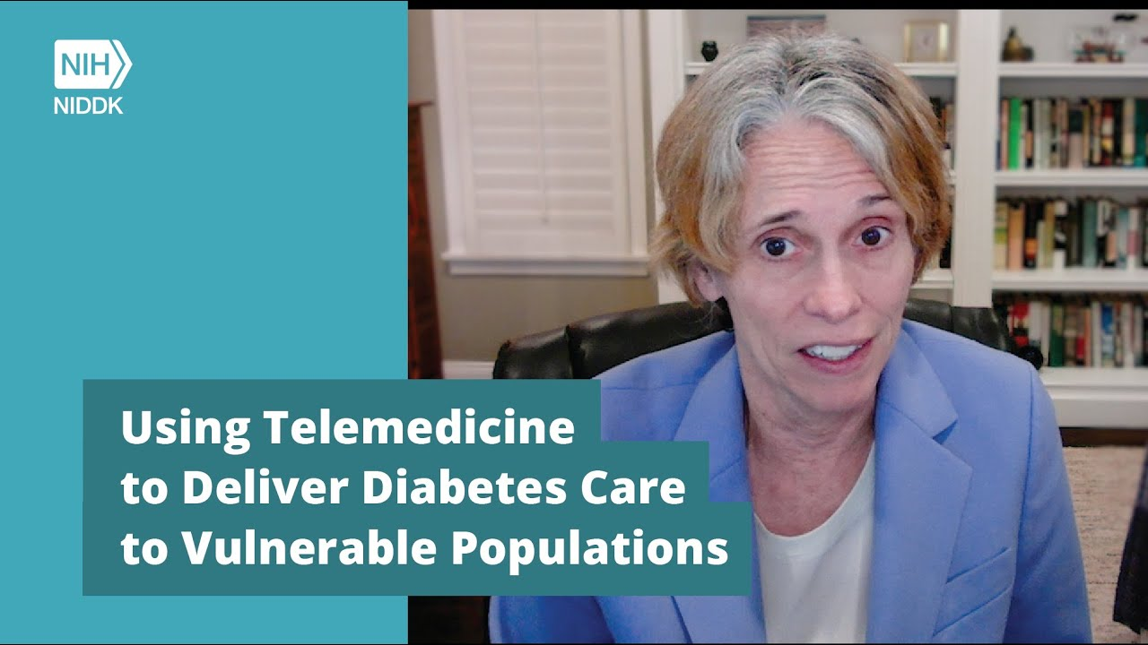 Still image from the Using Telemedicine to Deliver Diabetes Care to Vulnerable Populations YouTube video
