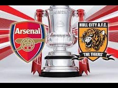 ◘ Arsenal vs Hull City FA Cup Final Highlights And Celebration ◘
