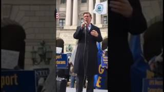 Rep. Don Beyer Speaks at Defend Climate and EPA Emergency Rally (3/15/17)