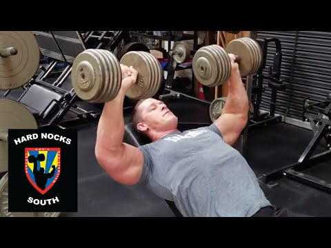 Chest day with John Cena: Hard Nocks South Life