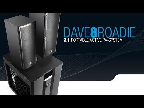 LD SYSTEMS DAVE 8 ROADIE Ozvučovací systém