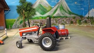 Amazing Rc Tractor Video - Tomys Birthday Party / Farm Vehicles In Action
