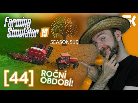 ROČNÍ OBDOBÍ! | Farming Simulator 19 #44