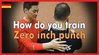 How do you train Zero inch punch  - DK Yoo