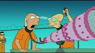 Futurama ITA - Il Prof. Farnsworth e Wernstrom evadono di Prigione