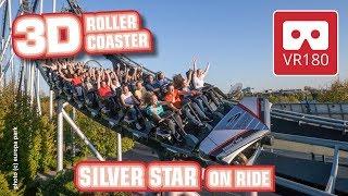 Roller Coaster VR180 3D Experience - SILVER STAR | VR POV @ Europa Park Achterbahn Montagnes Russes