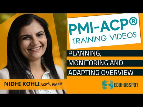 PMI ACP Exam Prep-PMI ACP Certification-Planning, Monitoring ...
