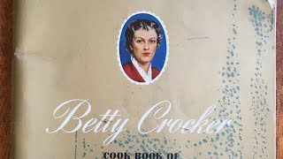 Vintage Betty Crocker Baking Recipe Book Flip-Thru 📖 | ASMR, Soft Talking | Vegan Baking Tips