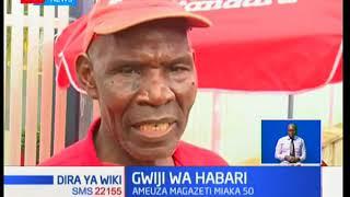 Safari ya mzee Walter Odum muuzaji wa gazeti miongo mitatu sasa